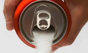 If soda was not liquid this is what it would look like!