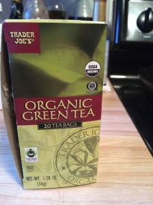 Organic Green Tea from Trader Joe's
