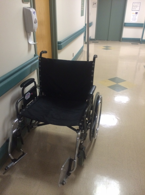 Double Wide Wheelchair: Our world didn't used to require wheelchairs this size!