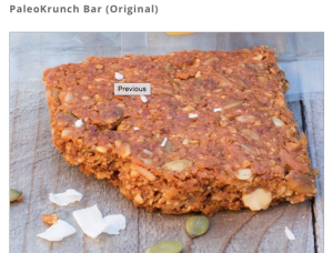 Steve's Paleogoods Original Krunch Bar